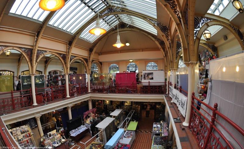 Upstairs at Camden Lock Market