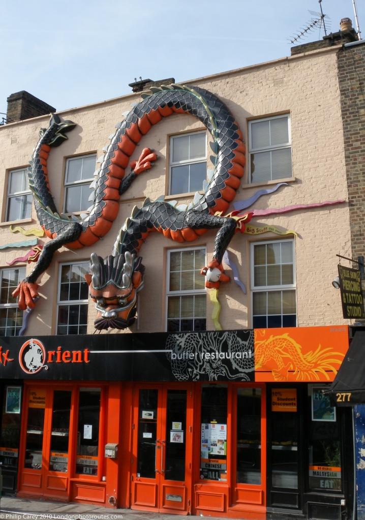 Dragon Art on Max Orient Restaurant Camden High Street