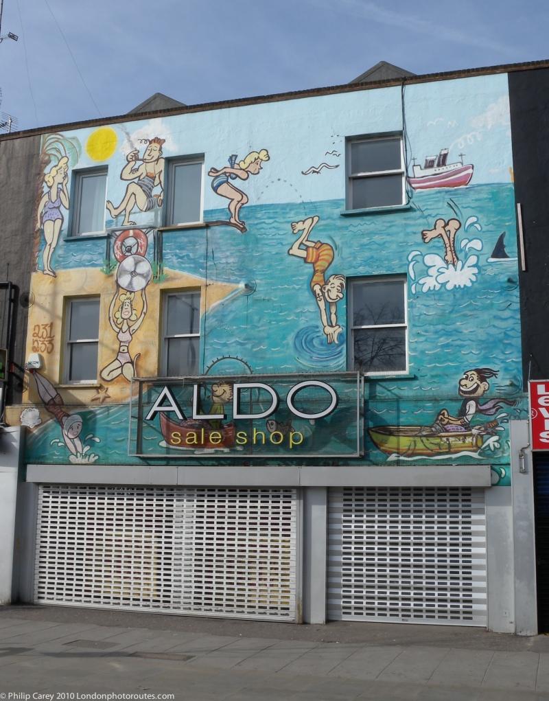 Painted Shopfront - Camden High Street