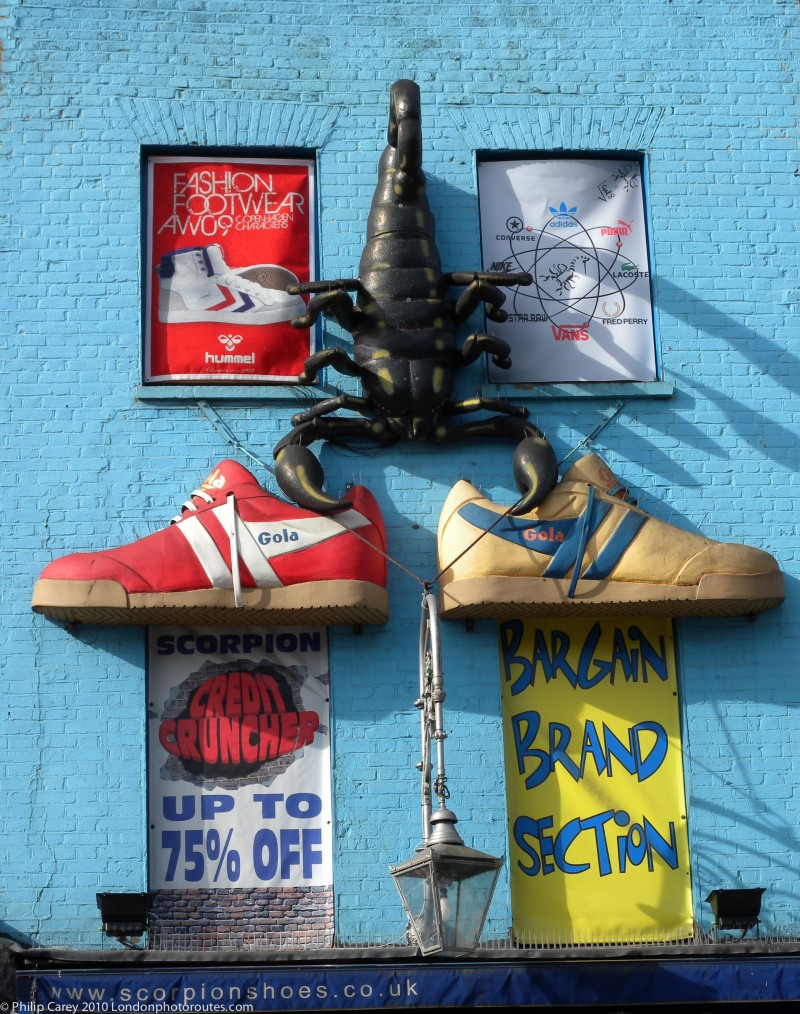 Shoe shop Camden High Street