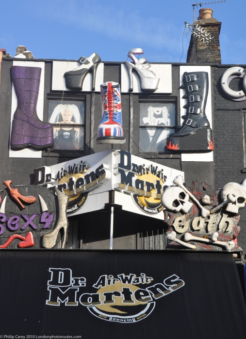 Dr Martens Shop - Camden High street