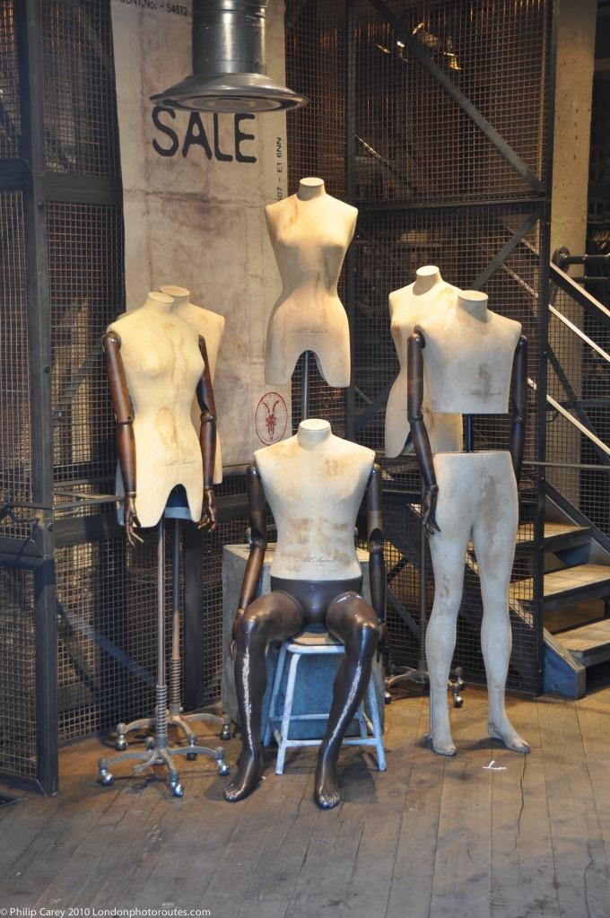 mannequins - Camden High street