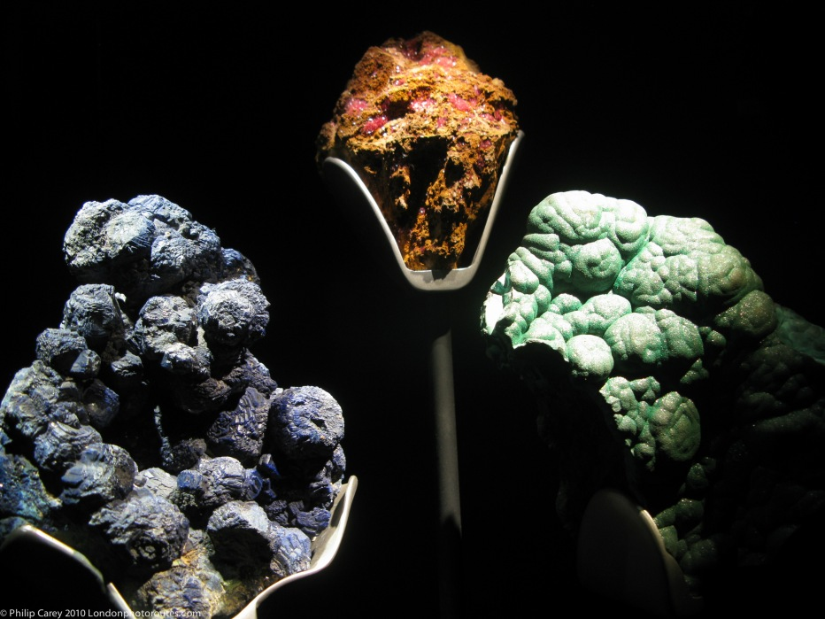HARD - Rocks from the Science Museum