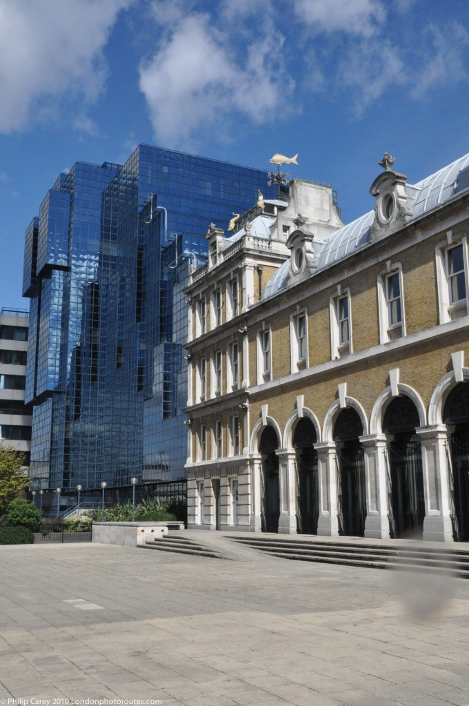 Old Billingsgate Market - and Norther and Shell buildings