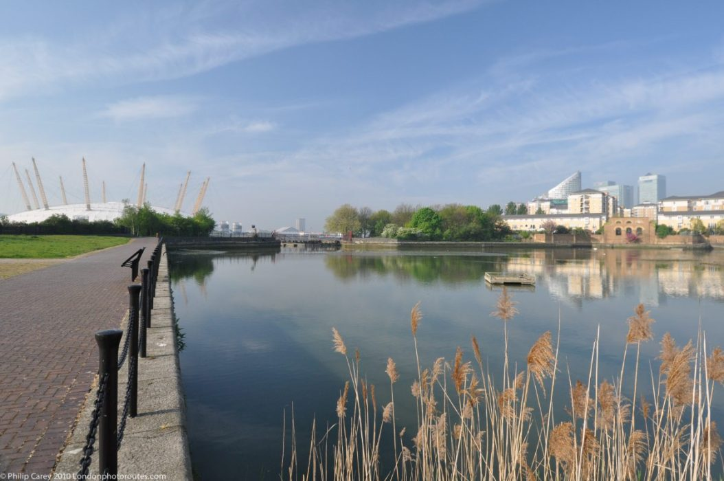 London Runs and Photo Routes - Salt Marsh Reserve- East India Dock Basin