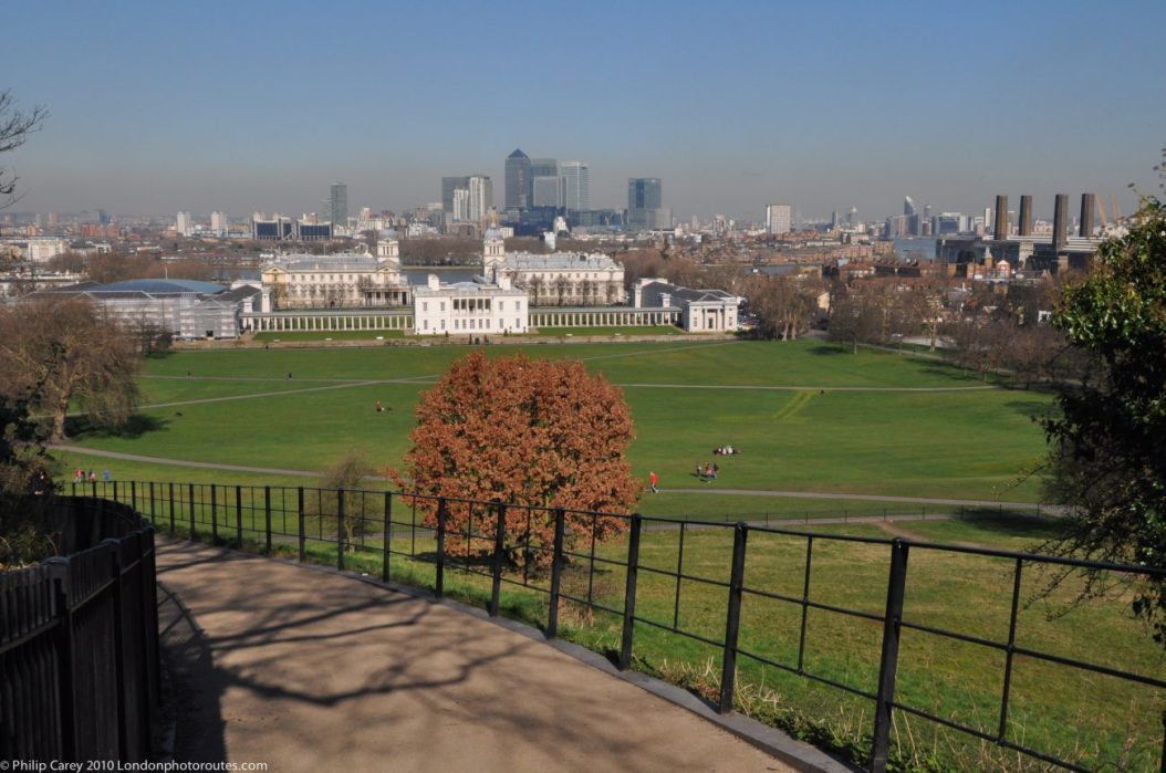 London Runs and Photo Routes - View from outside Royal Observatory