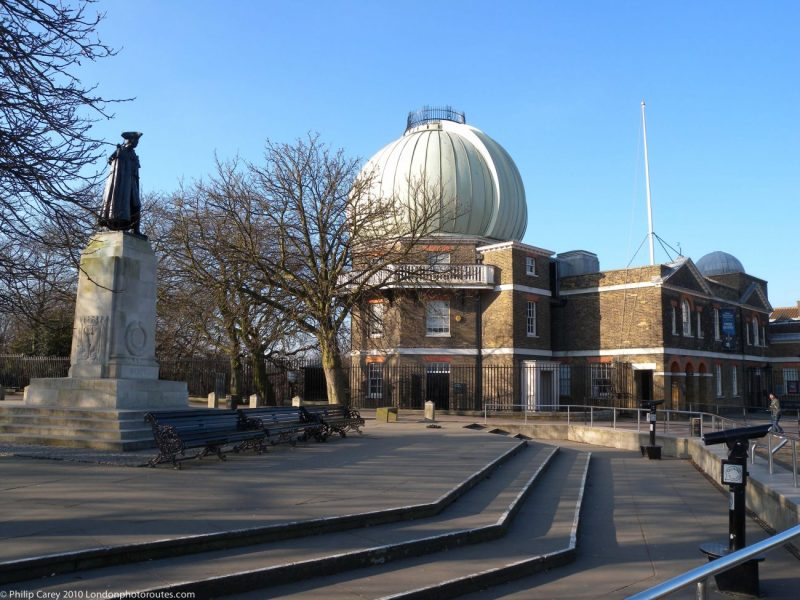 London Runs and Photo Routes -General James Wolfe statue and Royal Observatory