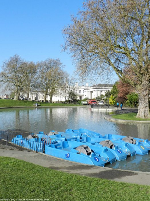 London Runs and Photo Routes -Greenwich Park Boating Lake