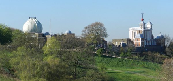 London Runs and Photo Routes - Royal Observatory from the Lower Walk