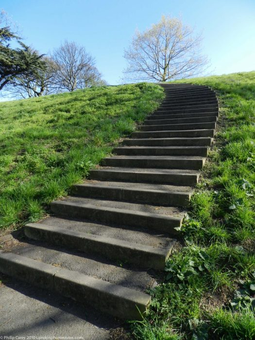 London Runs and Photo Routes -Steps - Greenwich Park