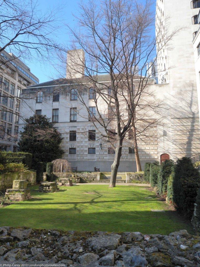 St. Mary Aldermanbury Garden