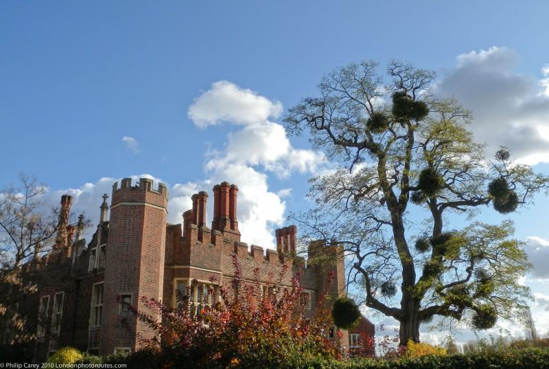Hampton Court Palace - Side Entrance views
