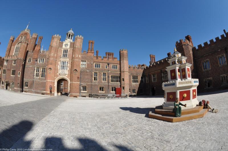 Base Court - Hampton Court Palace