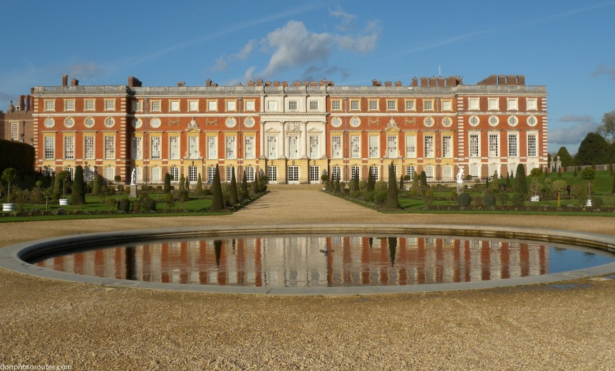 Hampton Court Palace from the Privy Garden