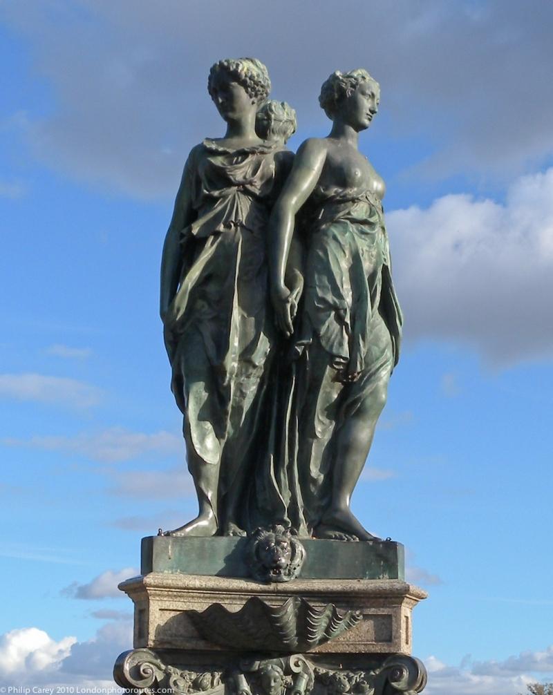 Fountain figures - Hampton Court Garden