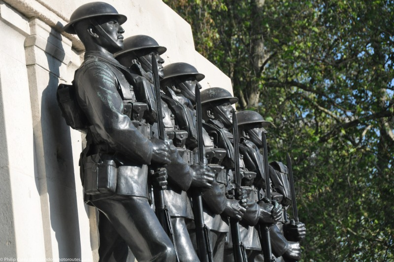 Guards on the Guards Memorial