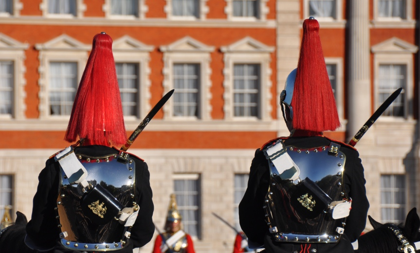 House Hold Cavalry in Horse Guards Parade