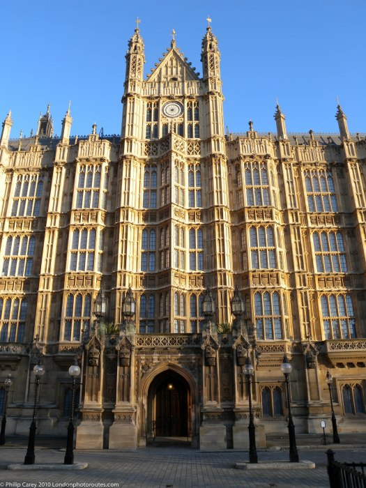 House Of parliament from Old Palace Yard