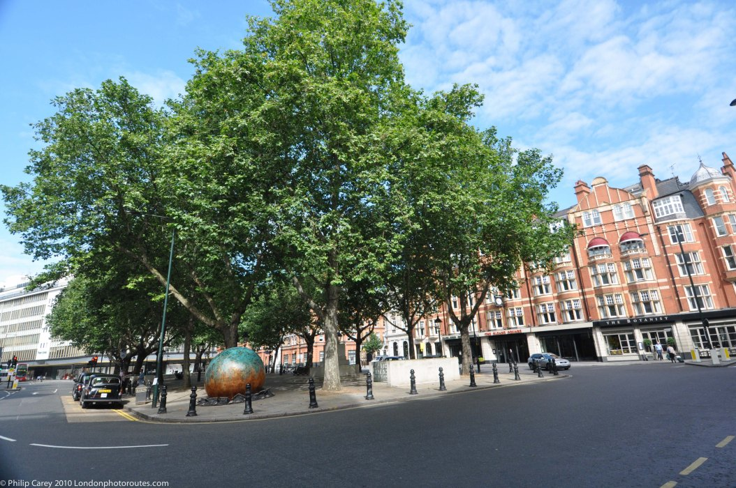 Sloane Square towards the Kings Road