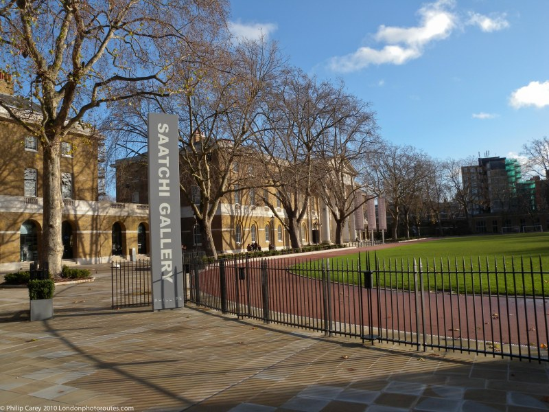 The Saatchi Gallery within the The Duke of York's Headquarters view
