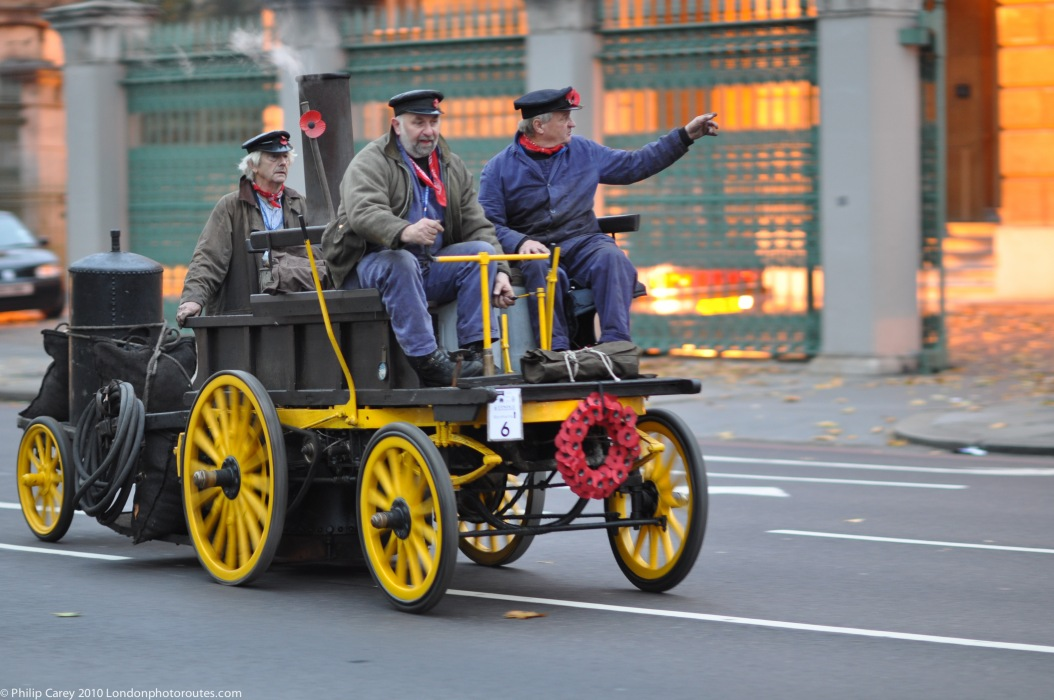 Steam Car from Hyde Park Corner