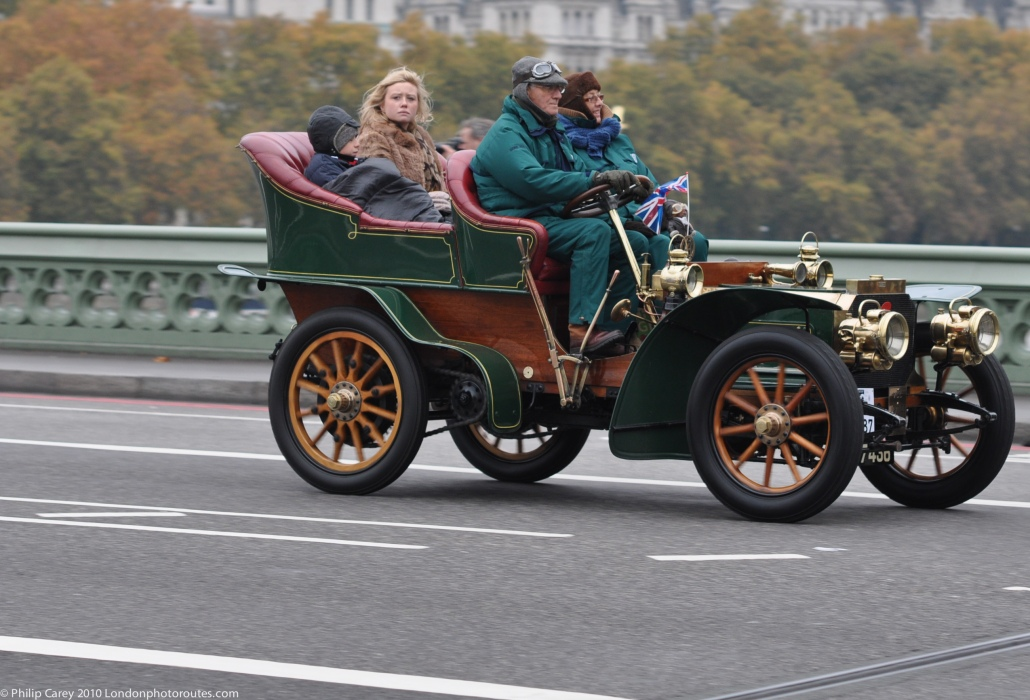 Feeling Cold on Westminster Bridge - London to Brighton Veteran Car Rally