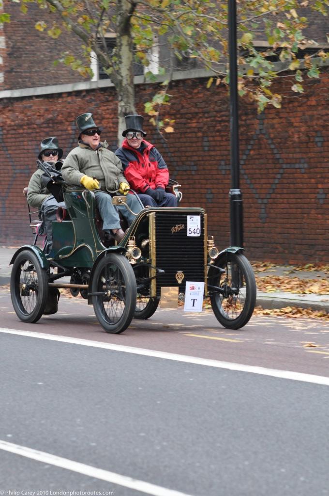 Masked Men at Lambeth Palace - London to Brighton Veteran Car Rally