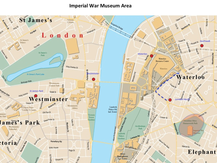 Imperial War Museum Map