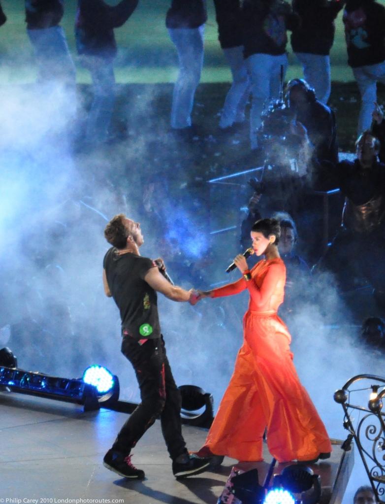 Rihanna and Coldplay - Spring