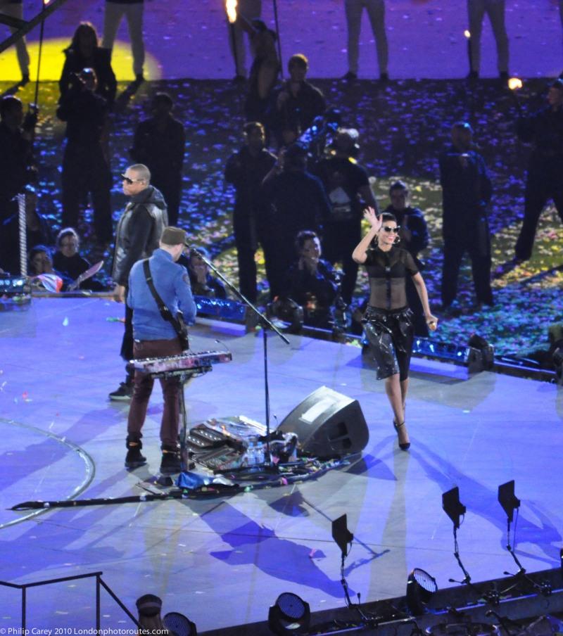 Coldplay, Rihanna and Jay-Z