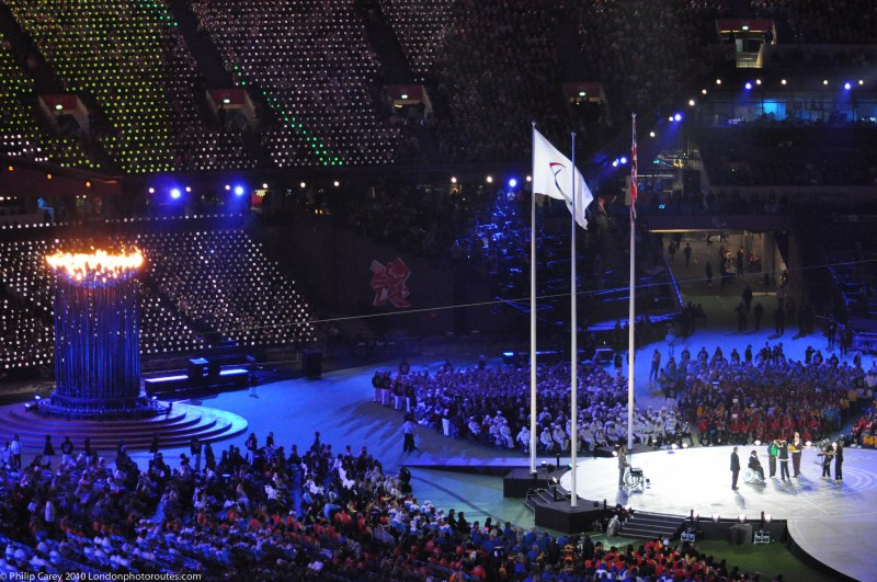 Sprit of the Games - awards and thank you's to athletes and volunteers.