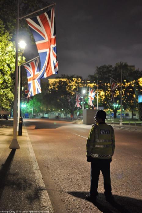 Night patrol - Royal Wedding.