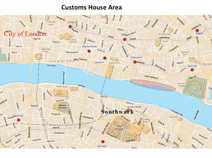 customs house map