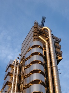 Lloyds of London Top view