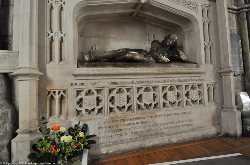 William Shakespeare in Southwark cathedral