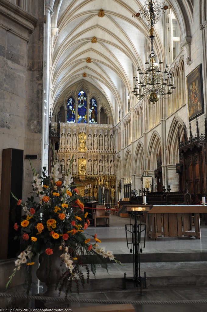 Internal View of Southwark cathedral