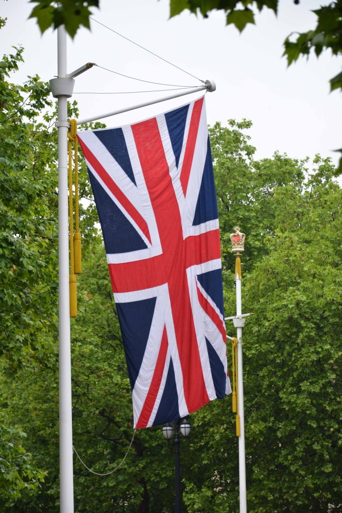 Union Jack on the Mall London