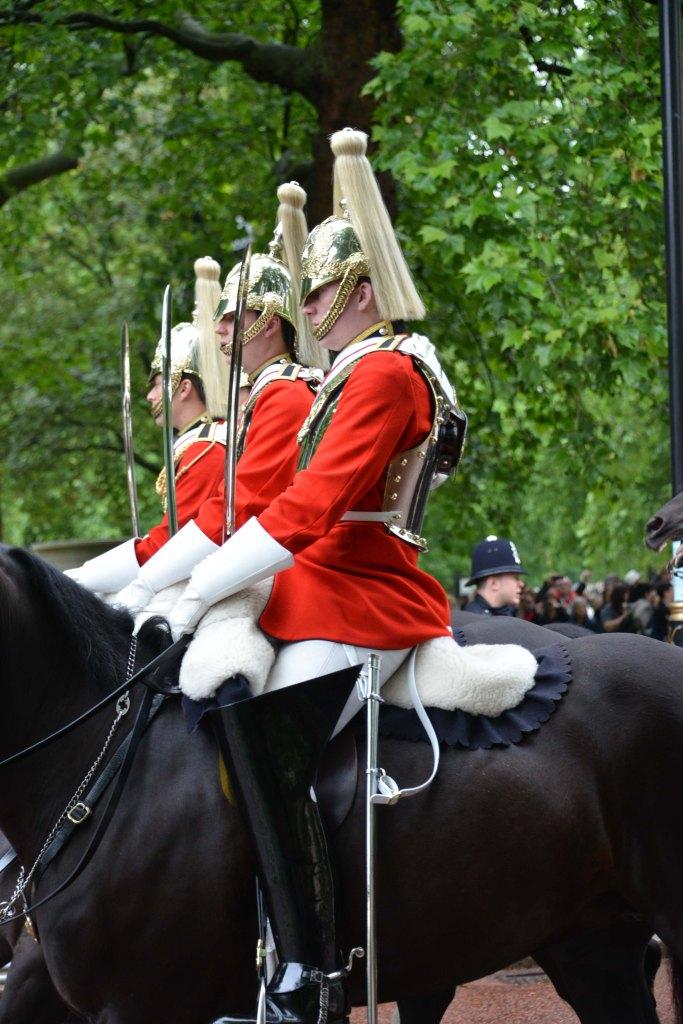 Household Calvary Standard Parade - detail 2