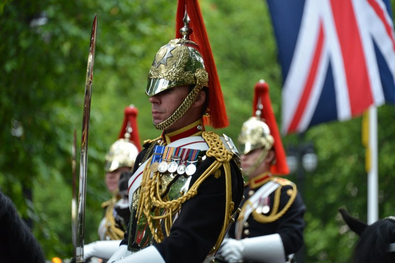 Household Calvary Standard Parade - Blues and Royals