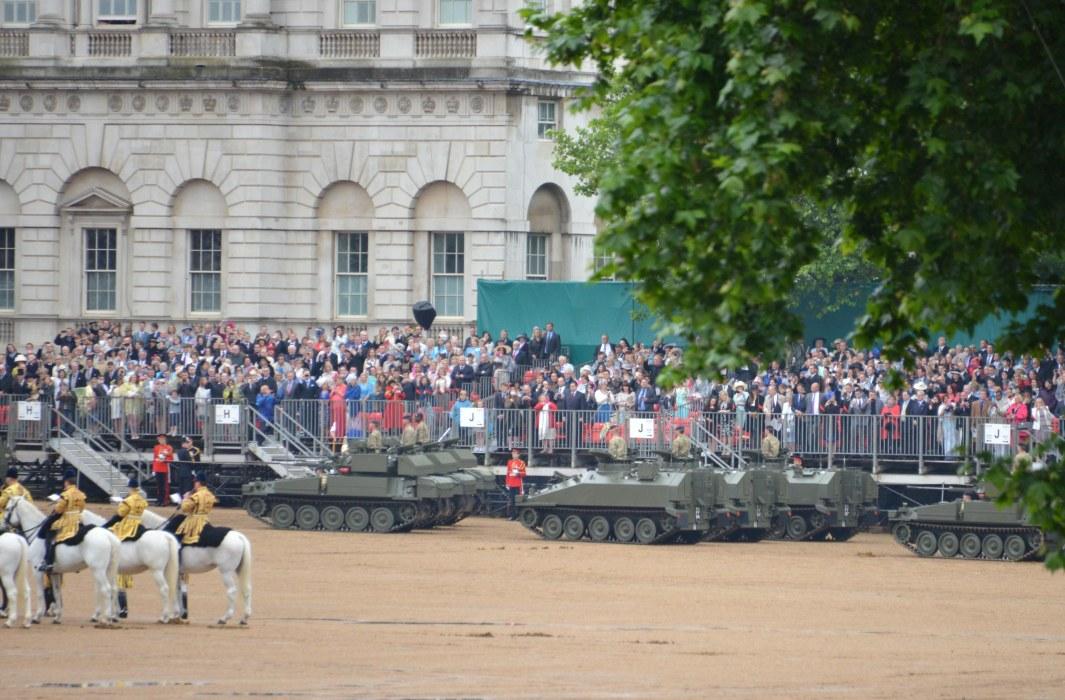 Household Calvary Standard Parade - Armour Division parade