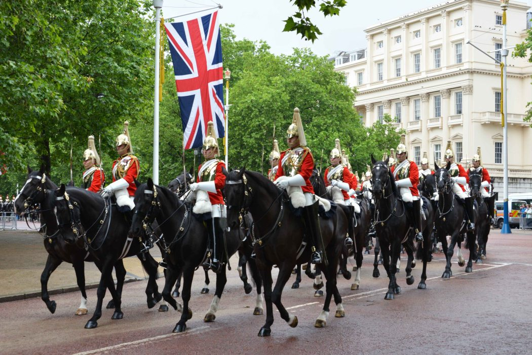 Household Calvary Standard Parade - Life Guards division