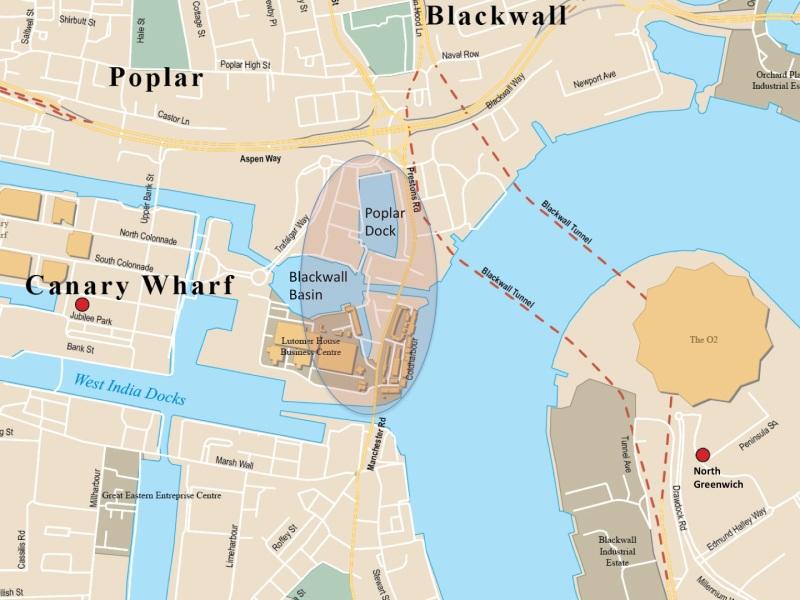 poplar map