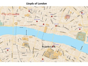 lloyds of London map