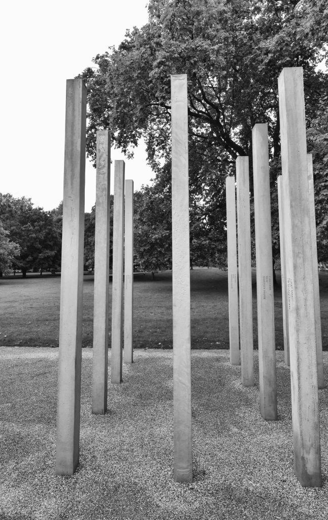 7/7 London Bombing Memorial -Hyde park Tavistock Square Victims