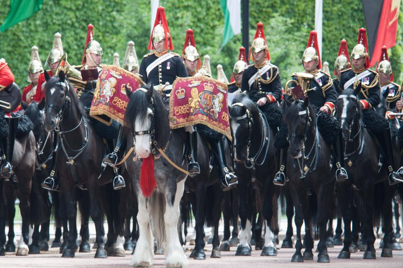 mass band of the household cavalry