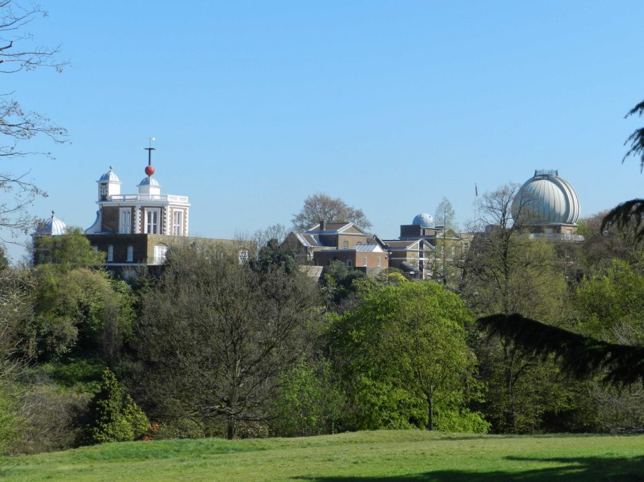 London Runs and Photo Routes - View towards the Royal Observatory Grrenwich