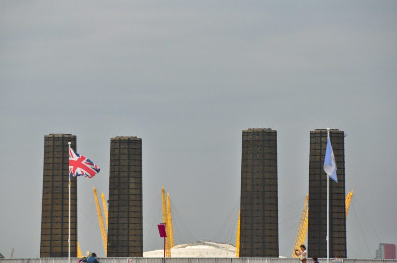 London Runs and Photo Routes - Greenwich Power Station and the O2