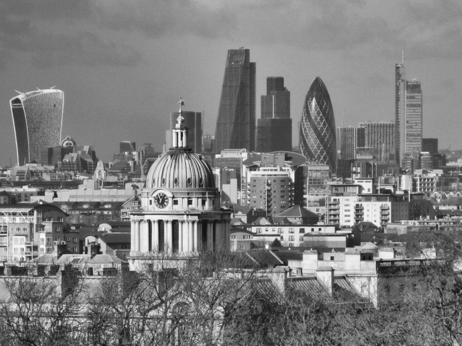 London Runs and Photo Routes - Close up views of the city of London from Greenwich Park