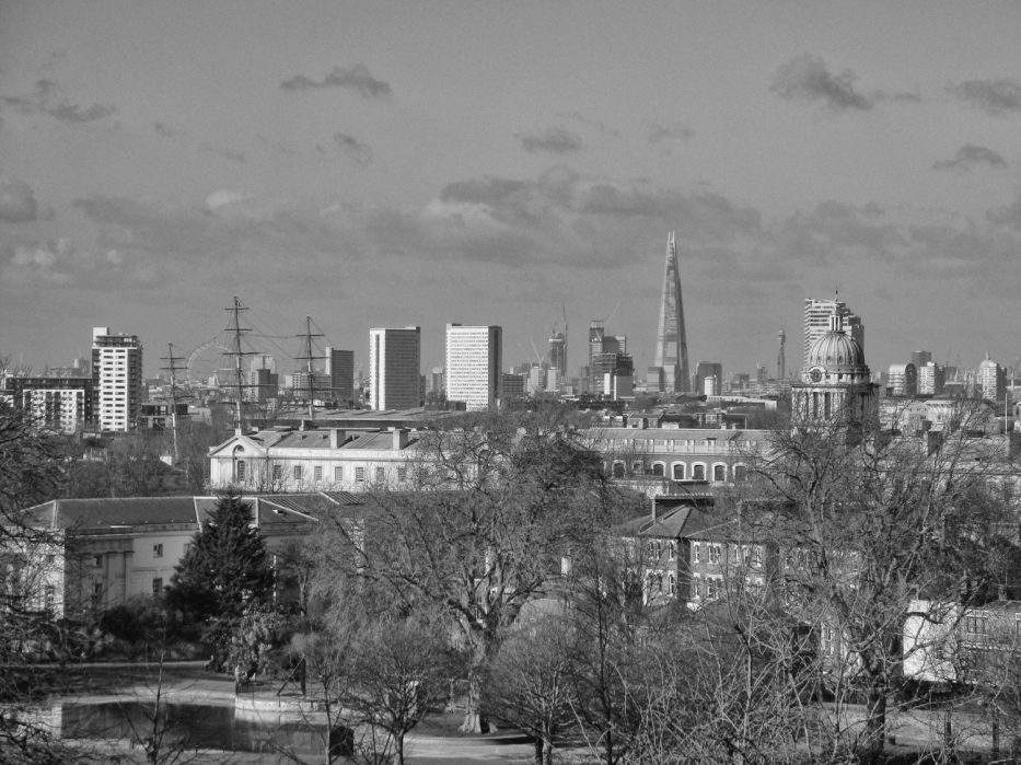 London Runs and Photo Routes - Close up views of the West End of London from Greenwich Park