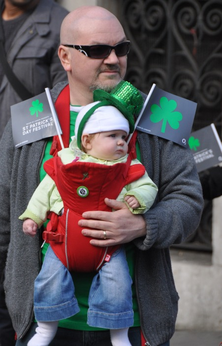 St Patrick Day Parade - spectator